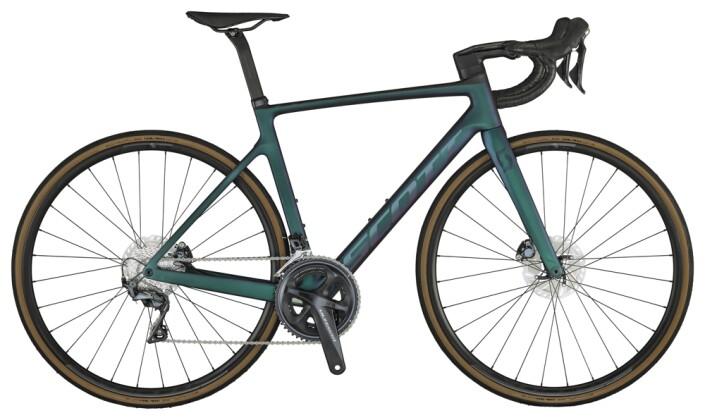 Race Scott Addict RC 30 Bike pr.grn purple 2021