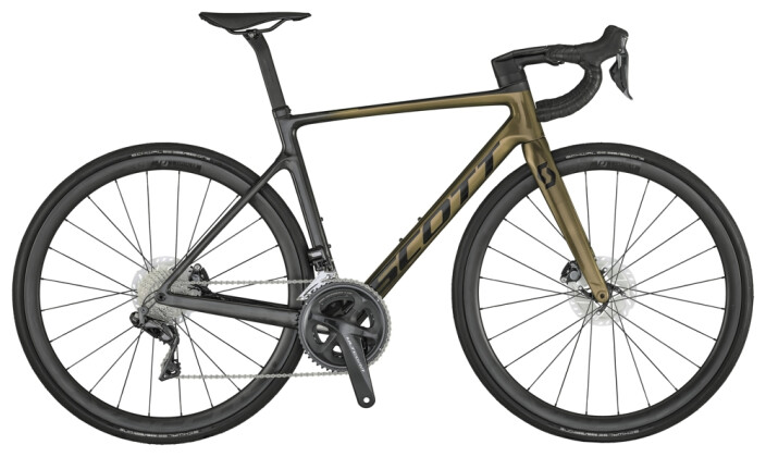 Race Scott Addict RC 15 Bike pr.kom.green 2021