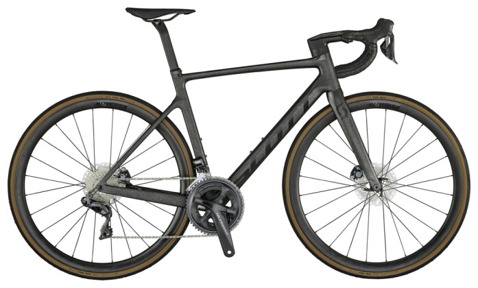 Race Scott Addict RC 15 Bike carb.onyx blk 2021