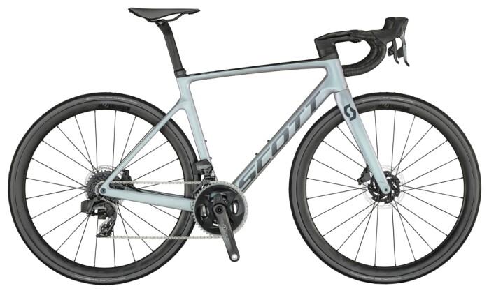 Race Scott Addict RC 10 Bike pr.grey grn 2021