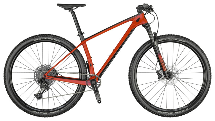 Mountainbike Scott Scale 940 Bike red 2021