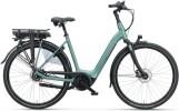 e-Citybike Batavus Finez E-go Exclusive 500 Wave petrol silver mat