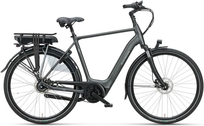 e-Citybike Batavus Finez E-go Exclusive 400 Herren black matt 2021