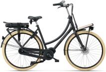 e-Citybike Batavus PACKD E-go Plus Curve black matt