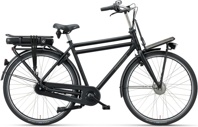 e-Citybike Batavus PACKD E-go Herren black matt 2021
