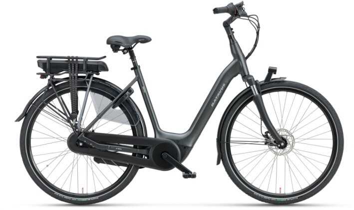 e-Citybike Batavus Finez E-go Active Plus 400 Wave black matt 2021
