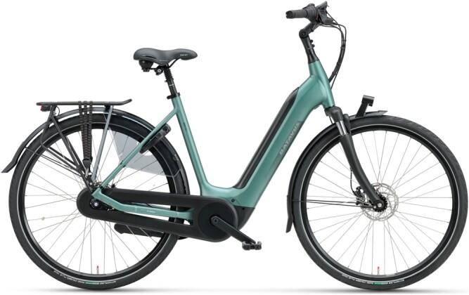 e-Citybike Batavus Finez E-go Power 625 Wave petrol silver mat 2021