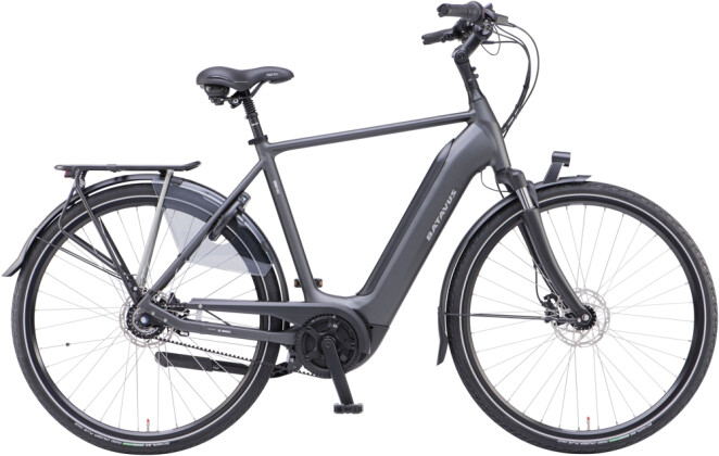 e-Citybike Batavus Finez E-go Power Exclusive Herren black matt 2021