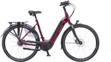 e-Citybike Batavus Finez E-go Power RT Wave dark red