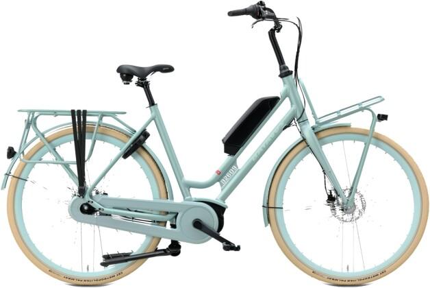 e-Citybike Batavus Quip E-go Extra Cargo Curve cyberiangreen mat 2021