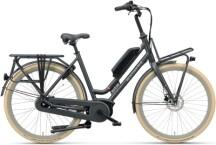 e-Citybike Batavus Quip E-go Extra Cargo Curve black matt