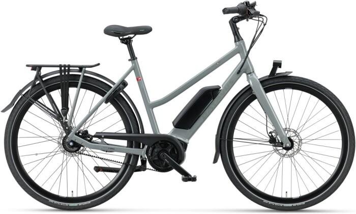 e-Trekkingbike Batavus Dinsdag E-go Exclusive Trapez avongrey 2021