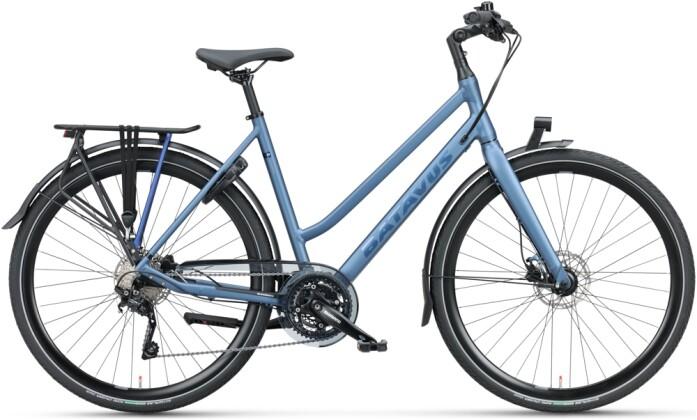 Citybike Batavus Dinsdag Sport Trapez grünblau 2021