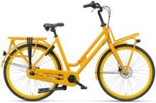 Citybike Batavus Quip Extra Cargo Curve oker gelb
