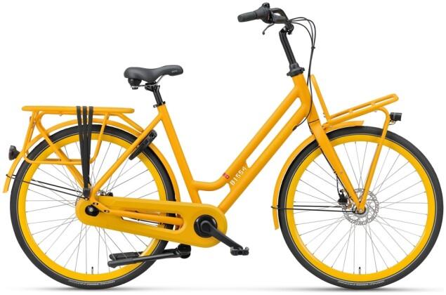 Citybike Batavus Quip Extra Cargo Curve oker gelb 2021