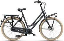 Citybike Batavus Quip Extra Cargo Curve black matt