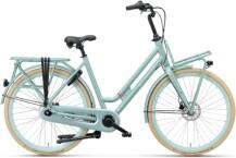 Citybike Batavus Quip Extra Cargo Curve cyberian green ma