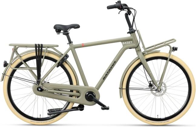 Citybike Batavus Quip Extra Cargo Herren olivegreen matt 2021