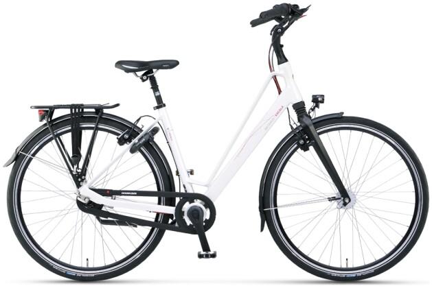 Urban-Bike Batavus Escala Curve ivory white matt 2021