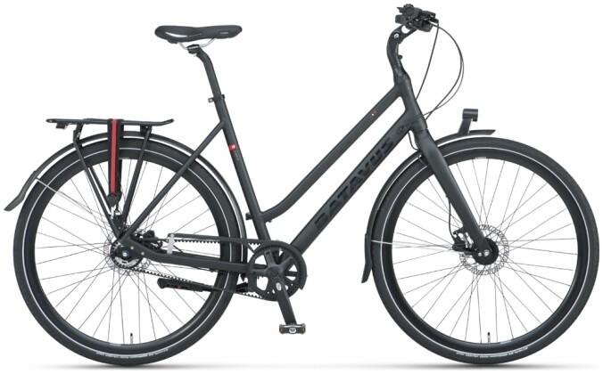 Urban-Bike Batavus Suerte Trapez black matt 2021