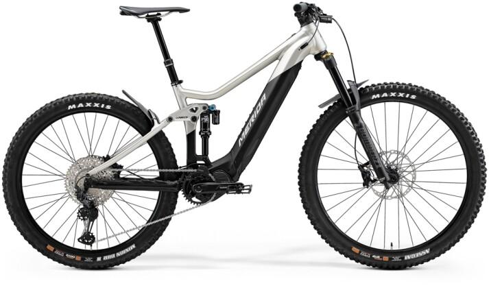e-Mountainbike Merida eONE-SIXTY 700 Matt-Titan/Schwarz 2021