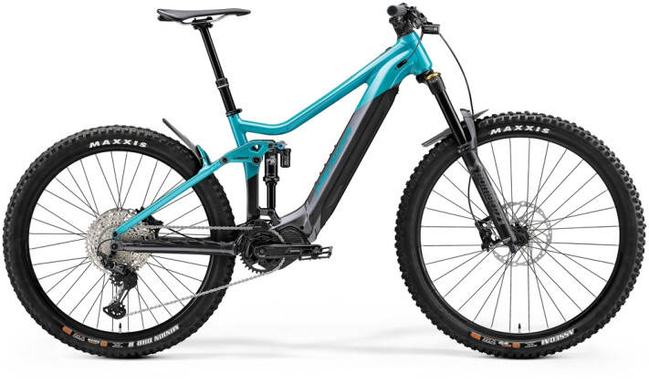 e-Mountainbike Merida eONE-SIXTY 775 Türkis/Anthrazit 2021