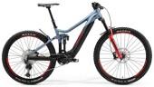 e-Mountainbike Merida eONE-SIXTY 700 Stahl-Blau/Schwarz