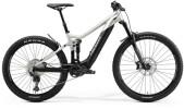 e-Mountainbike Merida eONE-SIXTY 575 Matt-Titan/Schwarz