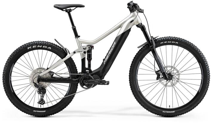 e-Mountainbike Merida eONE-SIXTY 500 Matt-Titan/Schwarz 2021