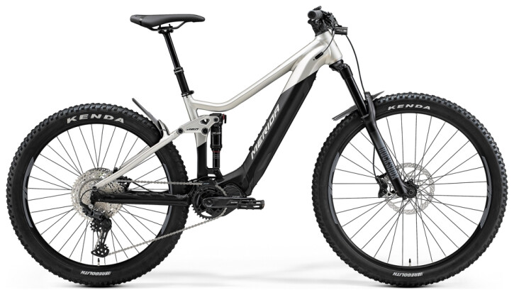 e-Mountainbike Merida eONE-SIXTY 500 Grün/Anthrazit 2021