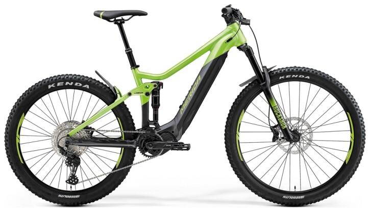 e-Mountainbike Merida eONE-SIXTY 575 Grün/Anthrazit 2021