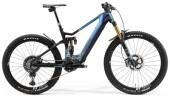 e-Mountainbike Merida eONE-SIXTY 10K Blau/Matt-Schwarz