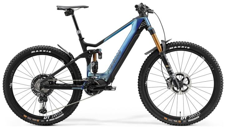 e-Mountainbike Merida eONE-SIXTY 10K Blau/Matt-Schwarz 2021