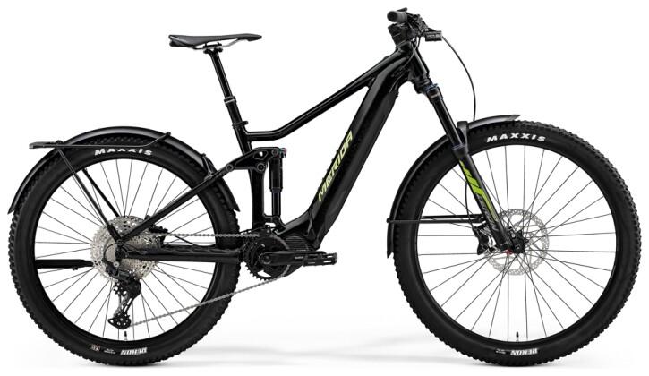 e-Mountainbike Merida eONE-FORTY EQ Schwarz/Grün 2021