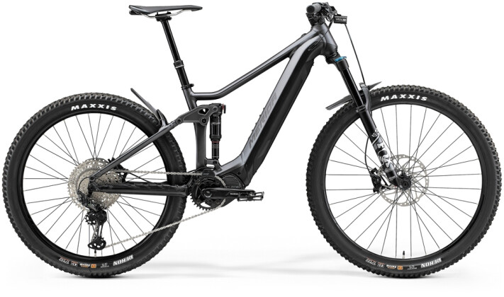 e-Mountainbike Merida eONE-FORTY 700 Anthrazit/Schwarz 2021