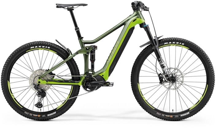 e-Mountainbike Merida eONE-FORTY 700 Matt-Grün/Grün 2021