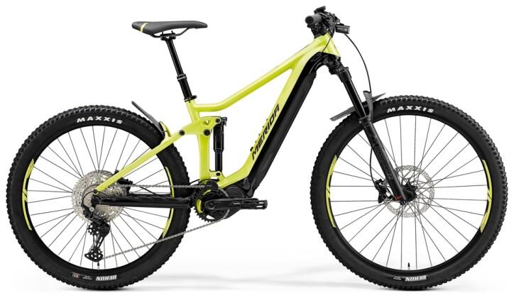 e-Mountainbike Merida eONE-FORTY 500 Lime/Schwarz 2021