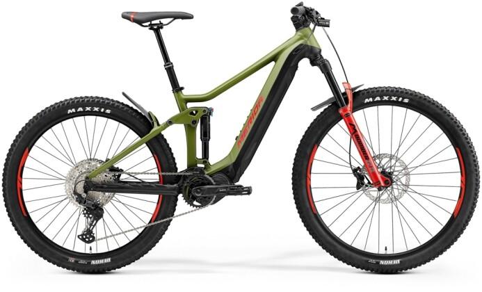 e-Mountainbike Merida eONE-FORTY 575 Matt-Grün/Schwarz 2021