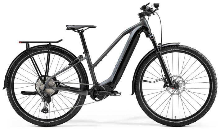e-Trekkingbike Merida eBIG.TOUR 700 EQ Grau/Schwarz 2021