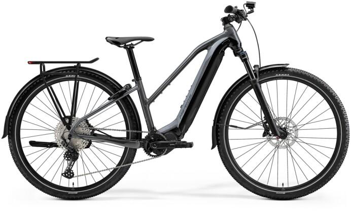 e-Trekkingbike Merida eBIG.TOUR 600 EQ Grau/Schwarz 2021