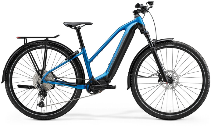 e-Trekkingbike Merida eBIG.TOUR 600 EQ Blau/Schwarz 2021