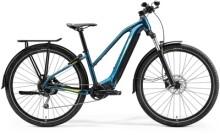 e-Trekkingbike Merida eBIG.TOUR 400 EQ Türkis-Blau/Lime