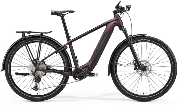 e-Mountainbike Merida eBIG.NINE 700 EQ Grau/Schwarz 2021