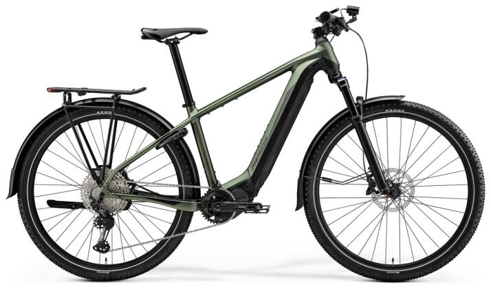 e-Mountainbike Merida eBIG.NINE 700 EQ Matt-Grün/Schwarz 2021