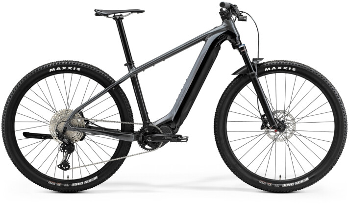 e-Mountainbike Merida eBIG.NINE 700 Grau/Schwarz 2021