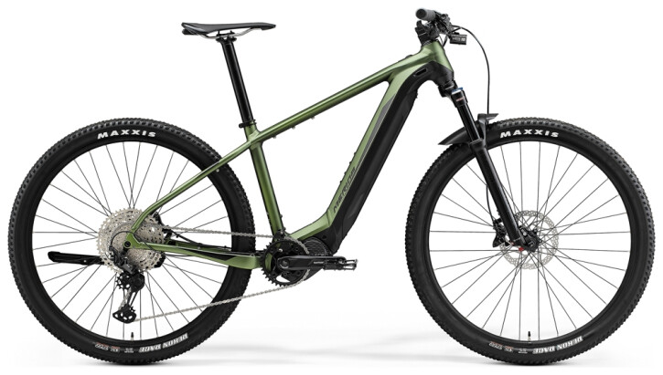 e-Mountainbike Merida eBIG.NINE 700 Matt-Grün/Schwarz 2021