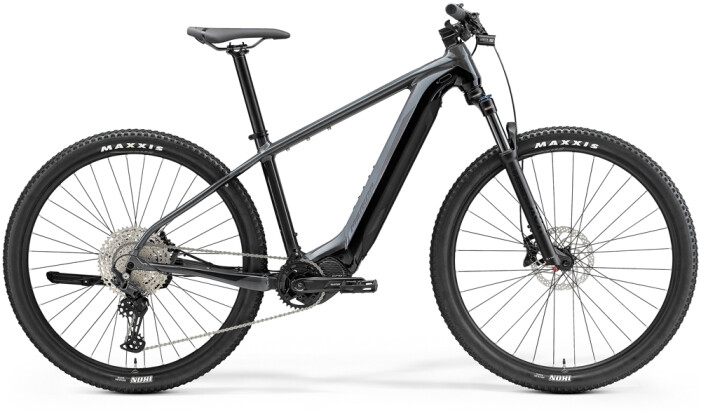 e-Mountainbike Merida eBIG.NINE 675 Grau/Schwarz 2021