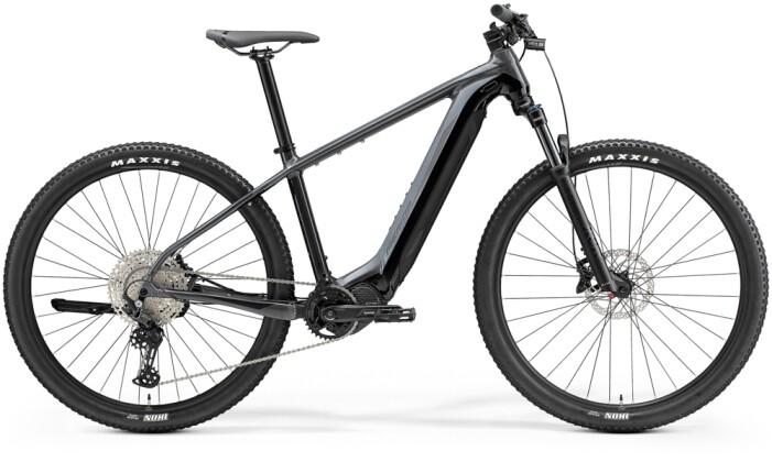 e-Mountainbike Merida eBIG.NINE 600 Grau/Schwarz 2021