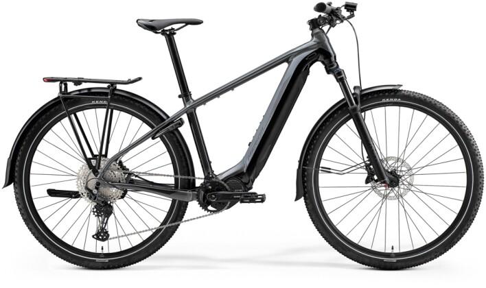 e-Mountainbike Merida eBIG.NINE 600 EQ Grau/Schwarz 2021