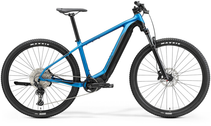 e-Mountainbike Merida eBIG.NINE 675 Hell-Blau/Schwarz 2021
